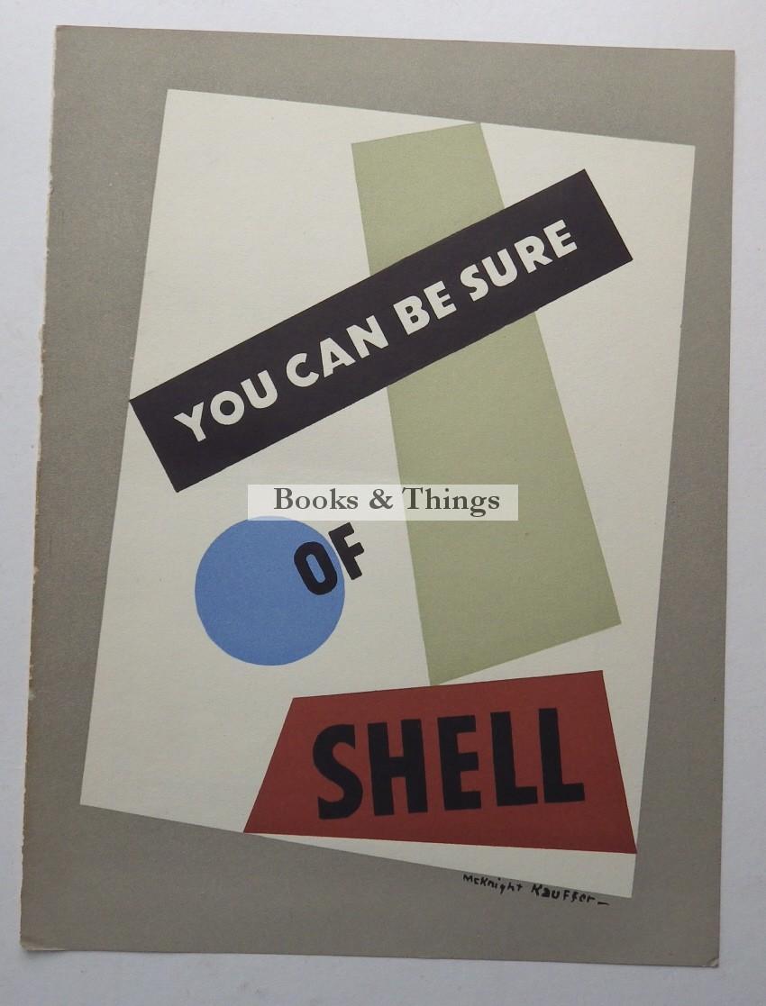 E. McKnight Kauffer Shell advert