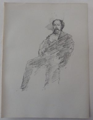 James McNeill Whistler lithograph Brother