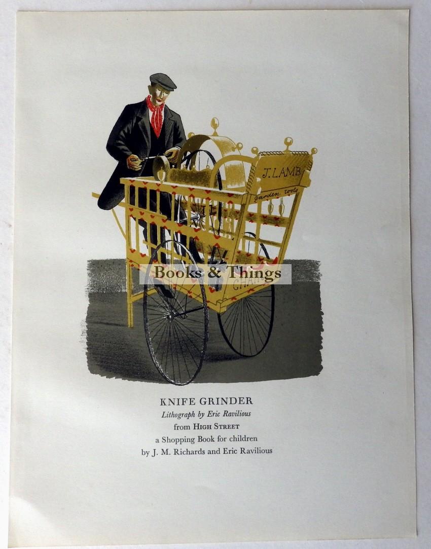 Eric Ravilious lithograph