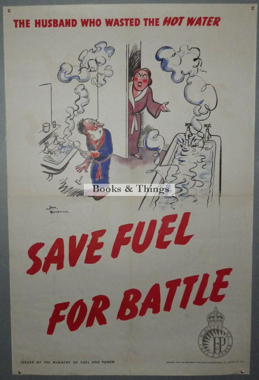 H.M.Bateman poster