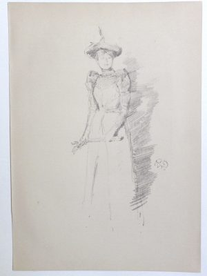 James McNeill Whistler lithograph