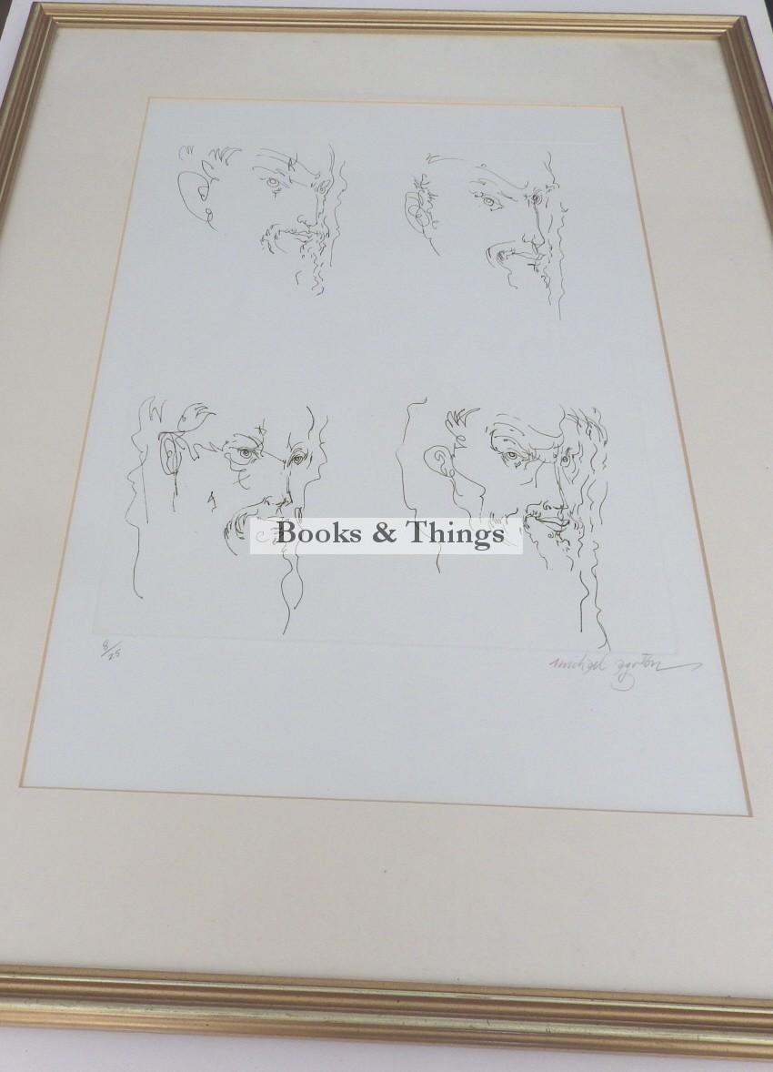 Michael Ayrton etching