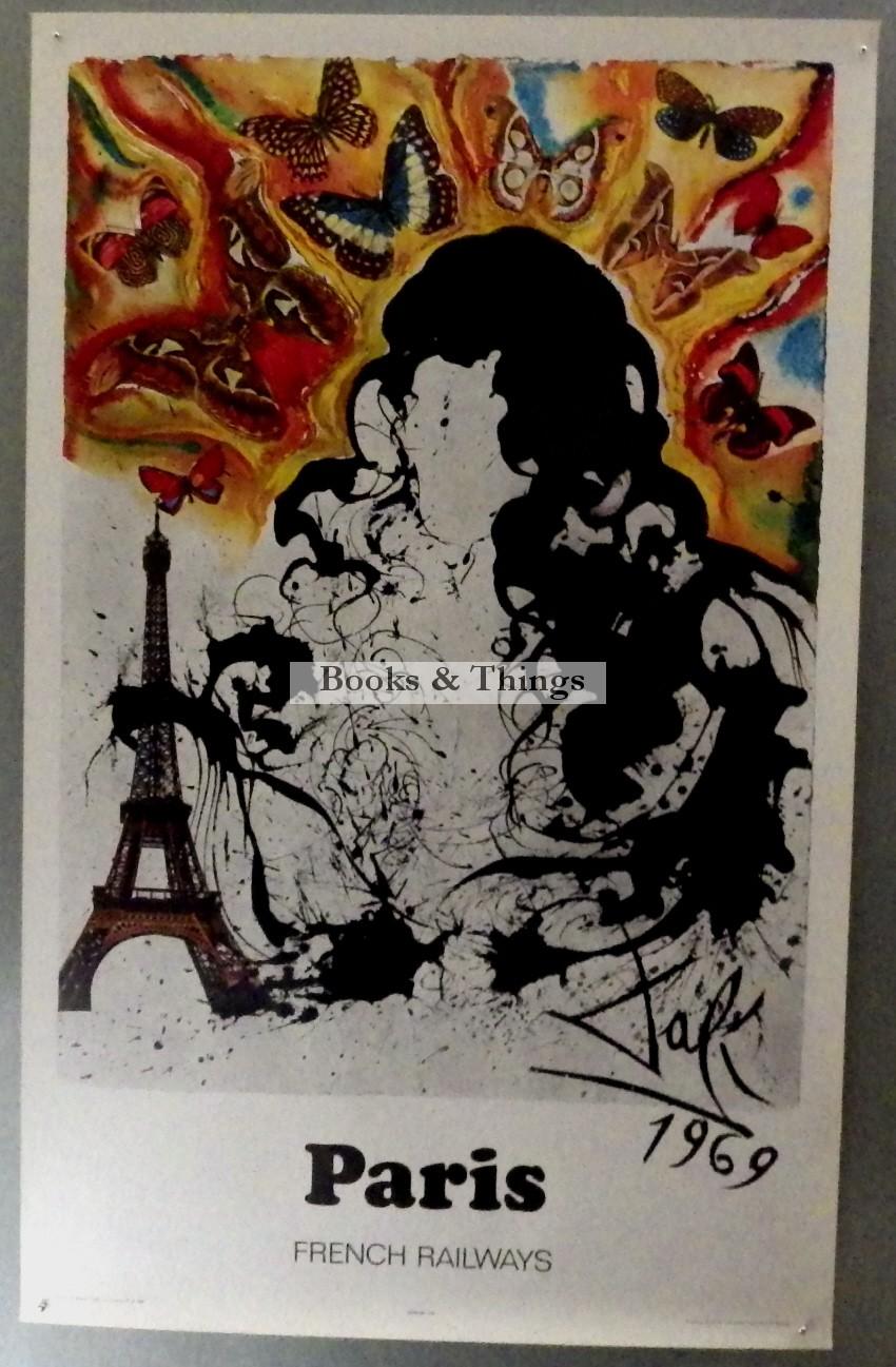Salvador Dali poster Paris