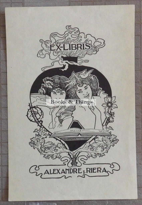 Alexandre de Riquer bookplate2