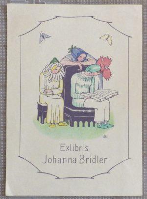 Ernst Kreidolf bookplate