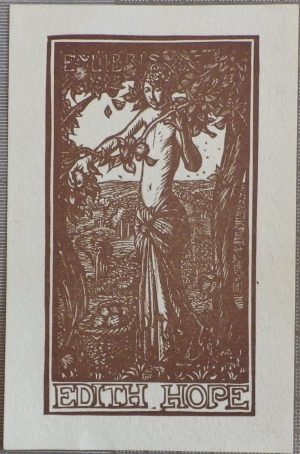 Frank Brangwyn bookplate