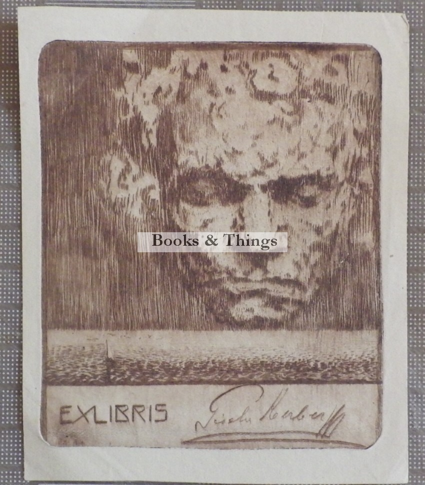 Gisela Kerber bookplate