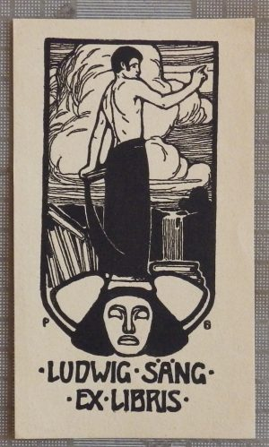 Paul Burck bookplate