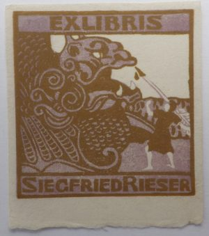 Siegfried Rieser bookplate