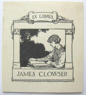 W. Heath Robinson bookplate