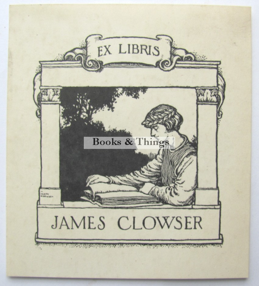 W. Heath Robinson bookplate