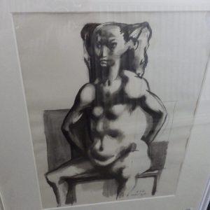 Michael Ayrton drawing