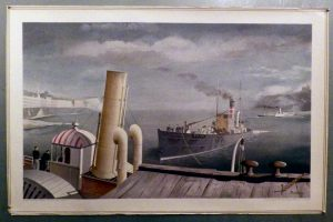 Felix Kelly School Print 1946