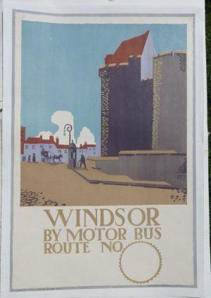 E. Mcknight Kauffer Windsor poster