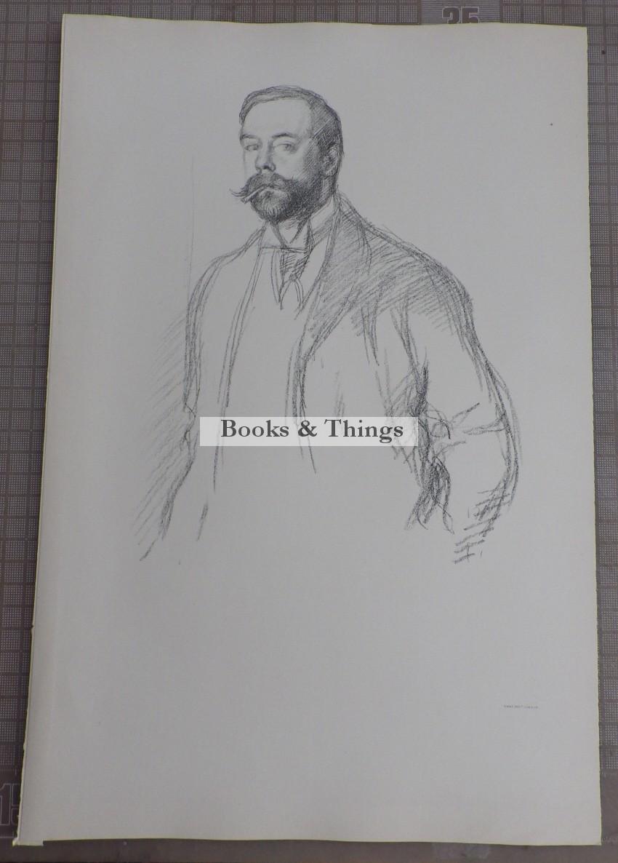 William Rothenstein lithograph John Singer Sargeant