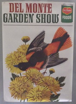 Del Monte Garden Show poster