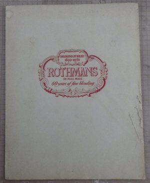 Rex Whistler Rothmans portfolio