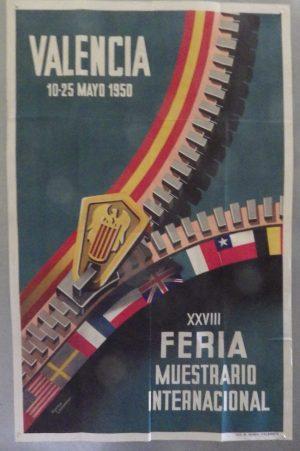 Valencia Fair poster 1950